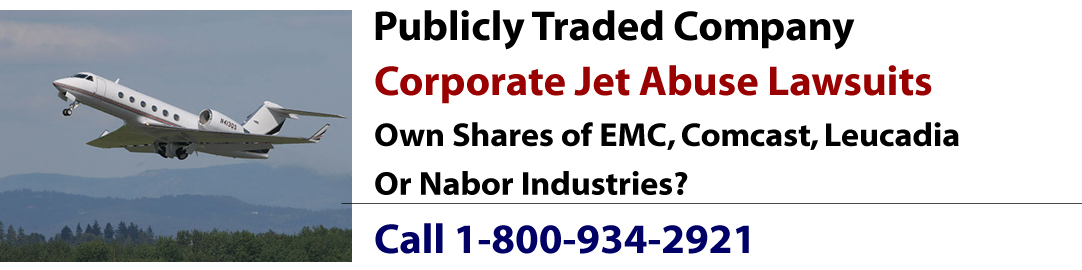 Corporate Jet Abuse Lawsuit